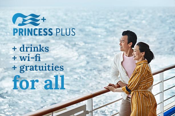 Princess Plus - Drinks, Wi-Fi & Gratuities for All